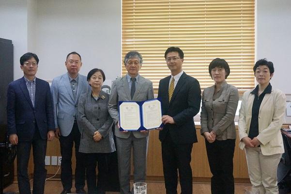 香川大学 :: 聖公会大学校及び東西大学校と学術交流協定を締結