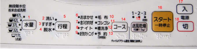 香川大学 :: How to use washing machine