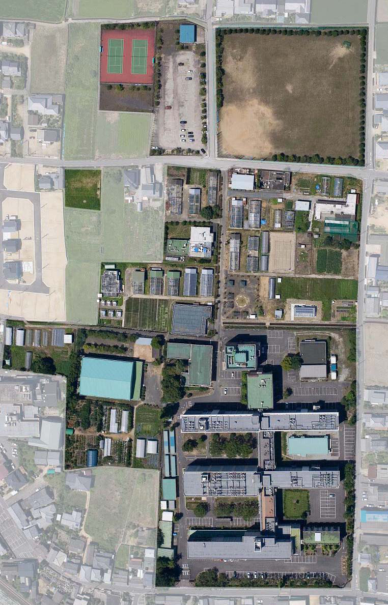 Agriculture Campus Map Life Science Research Center Kagawa University