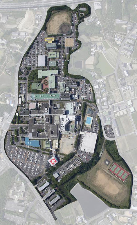 Medicine Campus Map And Parking Life Science Research Center